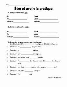 worksheets for verb etre 19140 etre et avoir worksheet with images worksheets free lessons lessons