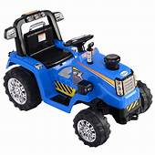 12V Battery Powered Kids Ride On Tractor Electric Toys W
