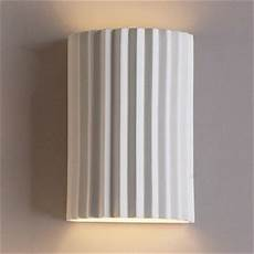 10 inch accordion geometric ceramic wall sconce indoor lighting fixture accordion wall l