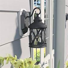 fleur de lis living carole 1 light outdoor wall lantern reviews wayfair