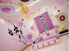 Gambar Dari Warna Cat Kamar Tidur Anak Gadis Polkadot