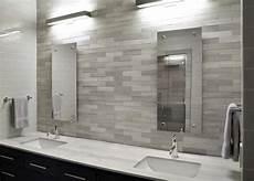 grey and white bathroom tile ideas modern white bathroom with sleek gray tile backsplash hgtv