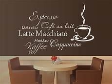 wandtattoo kaffee verspieltes caf 233 wandtattoo mit sch 246 ner tasse von
