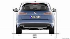 2019 Volkswagen Touareg Dimensions Hd Wallpaper 48