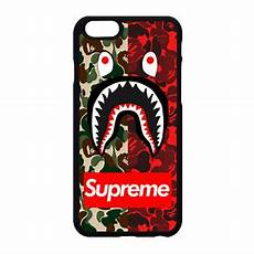 Bape Wallpaper Iphone 7 Plus by Supreme X Bape Camo Phone For Iphone X 5 6 7 8 Galaxy