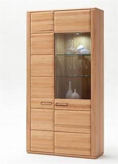 vitrine kernbuche vitrine kernbuche teilmassiv 107x209x38 cm glasvitrine