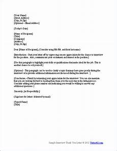 resume thank you letter template resume template pinterest