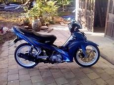 Modif Motor Jupiter Mx Warna by Jupiter Mx Modifikasi Warna Biru Thecitycyclist