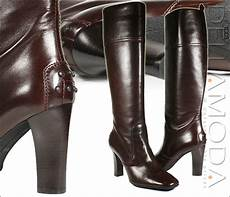tods boots brown leather boots for tdw09