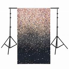 3x5ft 5x7ft Vinyl Gold Glitters Shining by Backdrops 4x6ft 5x7ft 3x5ft Glitter Black Gold Dots Thin