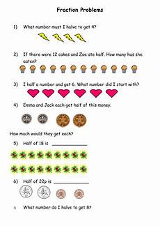 fraction problem solving worksheet for grade 5 4239 fractions by misskgill teaching resources tes
