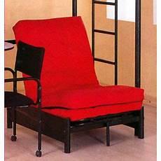 chair futon chair sleeper tri fold black futon chair 4029 ml