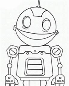 malvorlagen roboter kostenlos zum ausdrucken