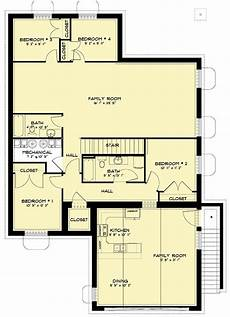 multi generational house plans multi generational home plan with 3 beds on main level and