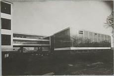 lucia moholy bauhaus building dessau 1925 1926 view from