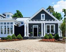 oyster shell driveway exterior color entry pergola white exterior houses house paint