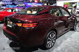 2020 Nissan Sentra SV At The 2019 Los Angeles Auto Show