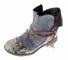 damen comfort leder stiefeletten tma 5161 boots schwarz