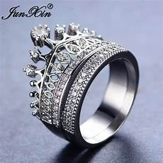 junxin 2017 new fashion white ring bridal sets gold filled jewelry vintage wedding