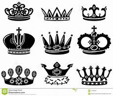 Crown Set Royalty Free Stock Photography Image 17408787