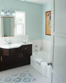Aqua Color Bathroom Ideas by Color Combo Light Floors Vanity Pale Blue Walls