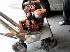 Montgomery Wards 70 S Era Tiller W 8hp B S Engine
