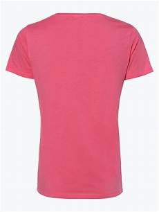orange damen t shirt taprinty pink uni