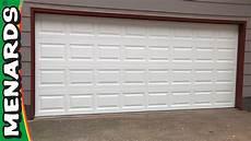 9 Inch Garage Doors by Garage Door How To Install Menards
