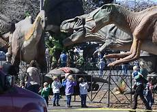 dinosaurs come alive at animatronic jurassic quest in