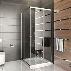 duschabtrennung mit rahmen dusche duschkabine 100 215 100