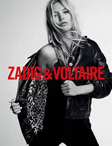 Zadig Voltaire Fall 2019 Ad Caign With Kate Moss By