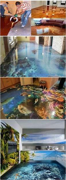 holographic floor salon design holographic