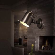 coffee wall mouted cylindrical spot wall light bar retro style metal wall sconce corridor
