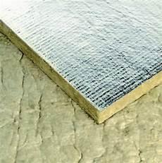 panneaux semi rigide de roche pa 40kg m3 papier alu