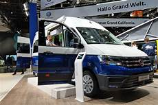 Volkswagen Grand California Cervan Based On Vw Crafter