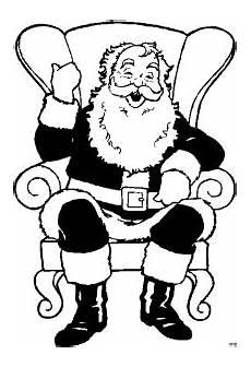Malvorlagen Weihnachtsmann Gratis Weihnachtsmann Im Stuhl Ausmalbild Malvorlage Gemischt