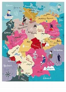 Kinder Malvorlagen Deutschlandkarte Deutschlandkarte Poster Lehmann Berlin A2