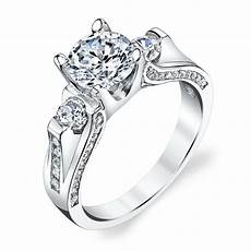 925 sterling silver 3 stone contemporary cubic zirconia