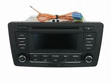 oem skoda octavia stereo radio cd mp3 player with