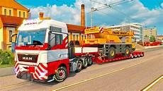 8x4 tgx oversize load ets2 truck simulator 2