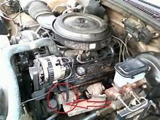 1998 Chevy Silverado Engine Accessory Bracket  89