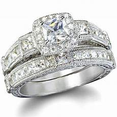style imitation diamond wedding ring ebay