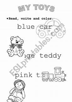 worksheets colors and toys 12707 toys and colors esl worksheet by andrestorres