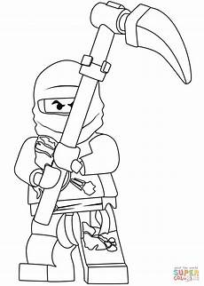ninjago cole coloring page free printable coloring pages