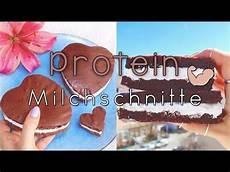 clean baking die perfekte protein milchschnitte selber