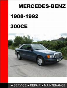 small engine repair manuals free download 1992 mercedes benz 190e windshield wipe control mercedes benz 300ce 1988 1992 workshop service repair manual tradebit
