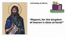 repent homily for the 2nd sunday of advent year a
