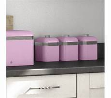 Pink Kitchen Canisters Uk by Buy Swan Retro Swka1020pn 1 Litre Canisters Pink Pack