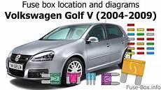 fuse box location and diagrams volkswagen golf v mk5