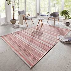 teppich creme design in outdoor teppich calais rosa creme rot